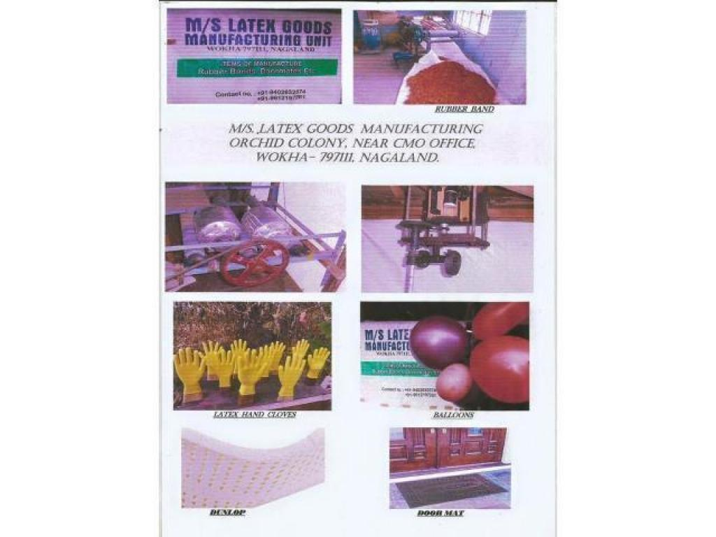 Buy localy manufactured rubber products from M/S LATEX GOODS MANUFACTURING UNIT Wokha