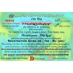 One Day Wedding Photography Workshop