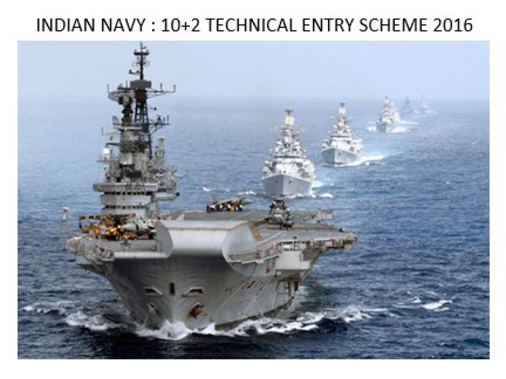 INDIAN NAVY: 10+2 Technical Entry