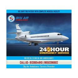Choose Sky Air Ambulance in Shimla with Emergency ICU Setup