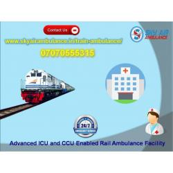 Now Get Rail Ambulance Service in Kolkata with Perfect Medical Support