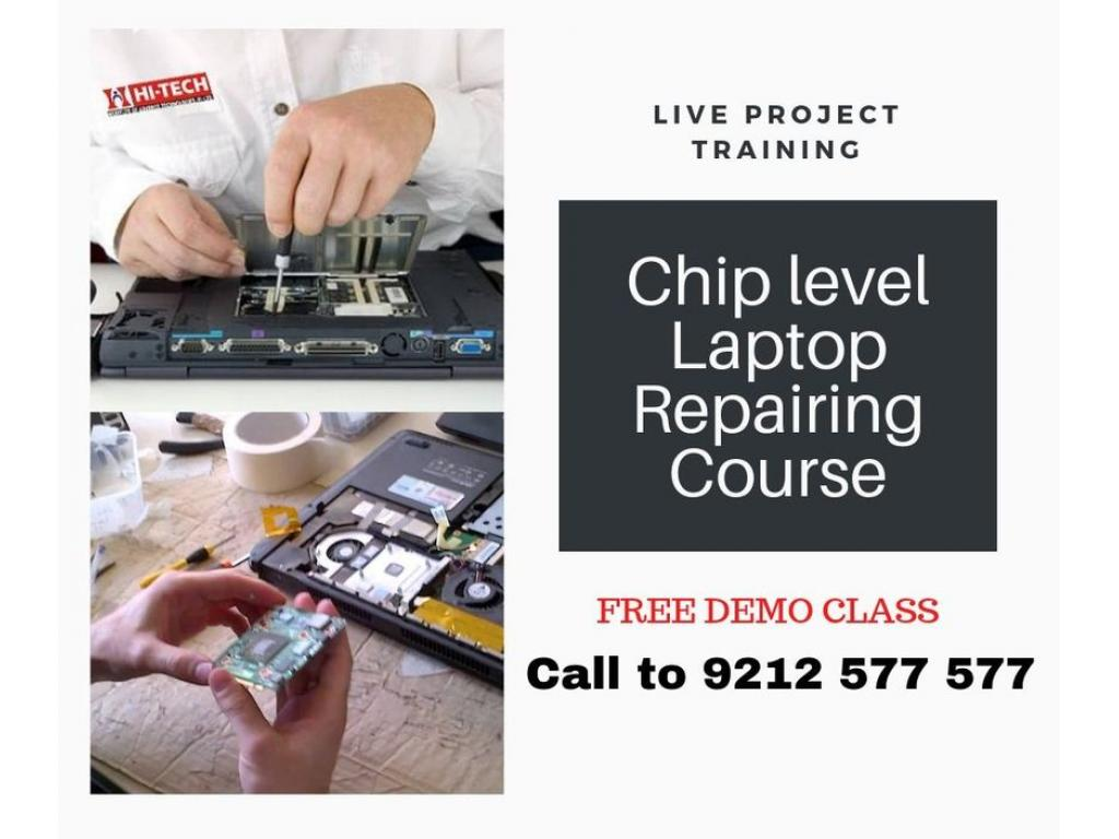 Chip level Laptop Repairing Training Center in Ghaziabad