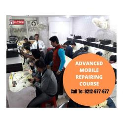 Learn advance mobile repairing course with Latest Machines