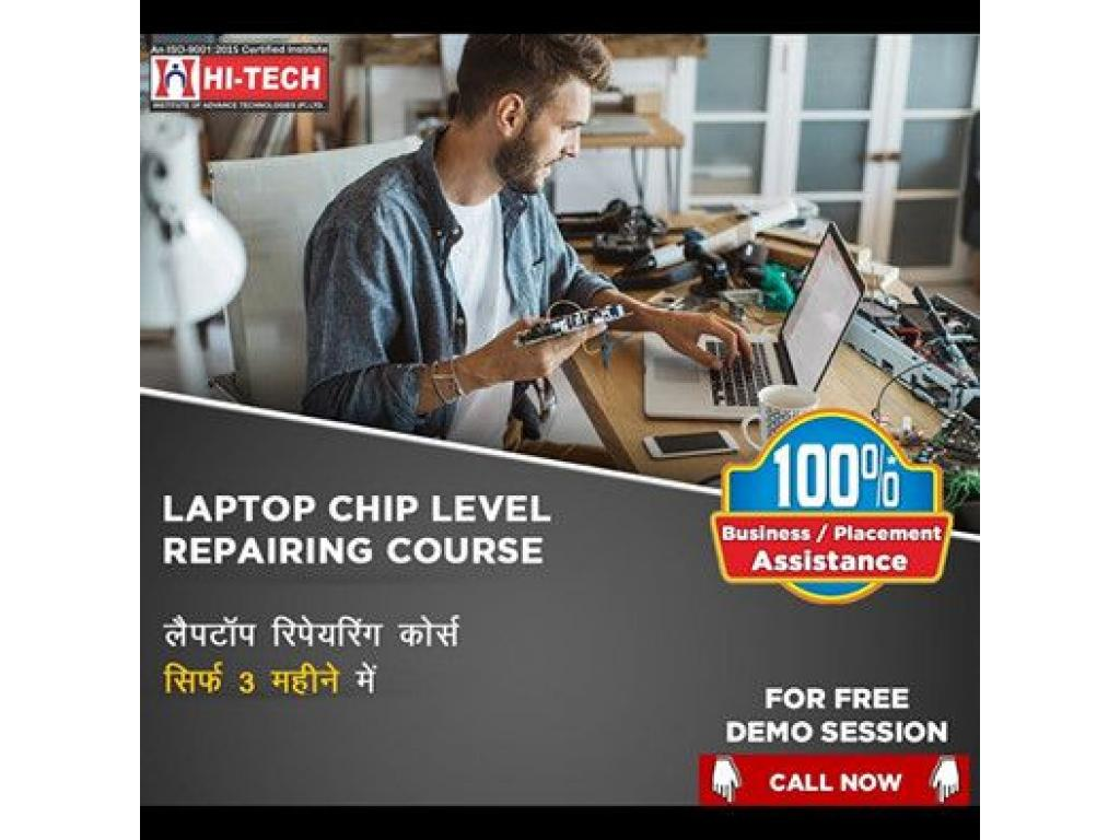 Chip level laptop repairing course in Karol bagh, Delhi