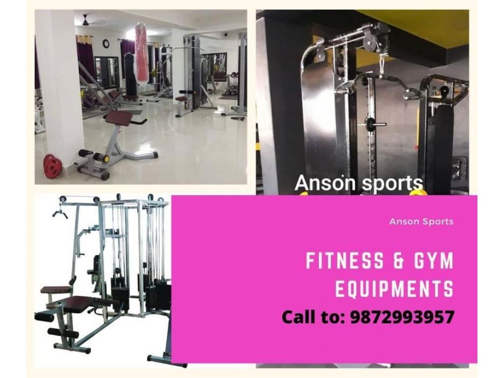 Anson sports gym equipments manufacturer in Jalandhar