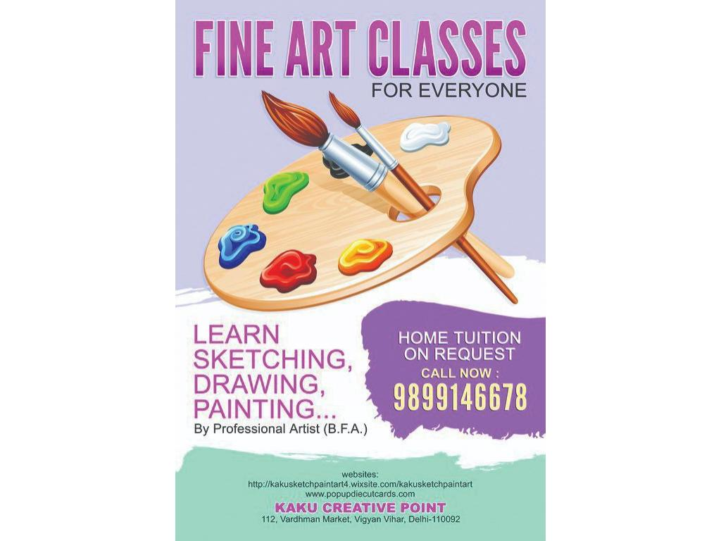 Learn Sketching, Drawing, Painting, Fine Art... HOME TUITION FOR EVERYONE