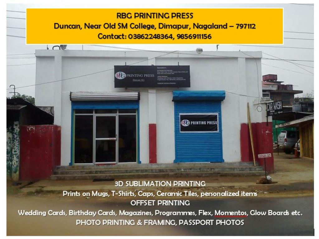 Newly Opened! - Design and printing services at RBG Printing Press at Duncan
