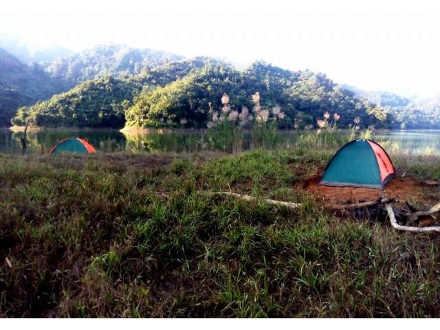 Experience Adventurous Outdoor Camping and boating in Doyang, Wokha, Nagaland