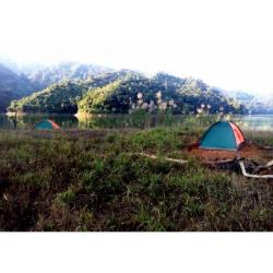 Outdoor Camping and boating in Doyang, Wokha, Nagaland