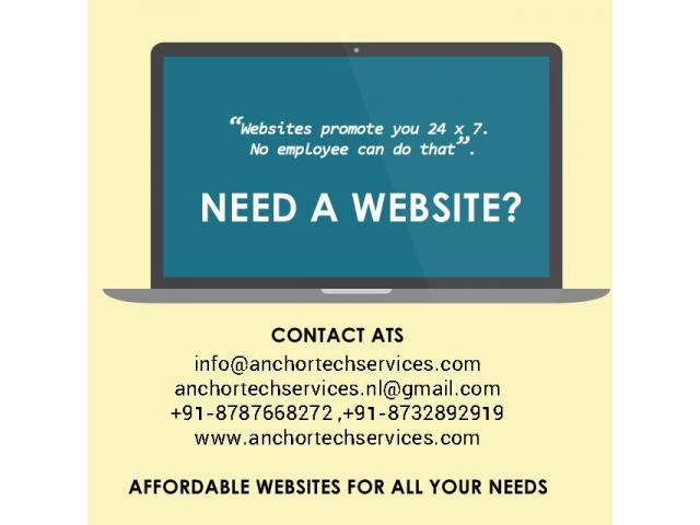 Need a website? Contact for Website Design and Development in Nagaland
