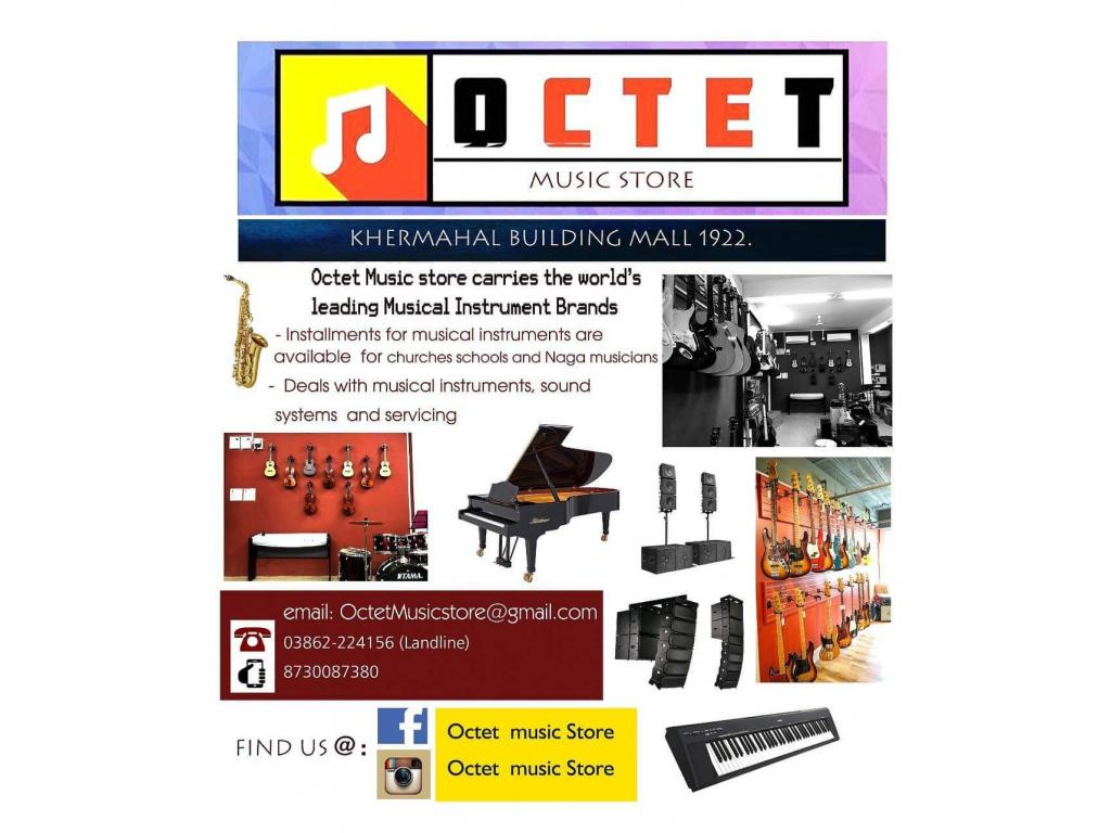 Octet Music Store - buy musical instruments in Dimapur Nagaland