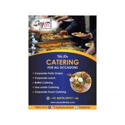 Corporate Party Orders in Gachibowli | Corporate lunch Services in Gachibowli